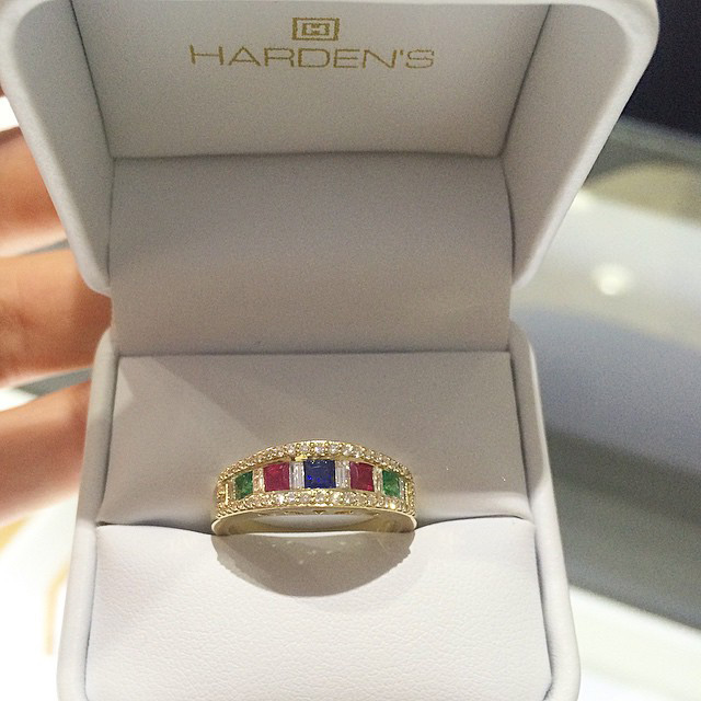 Want a unique way to keep your family close to your heart? Come into hardens and make a custom family ring!