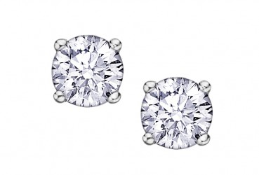 Canadian Diamond Stud Earrings Stittsville