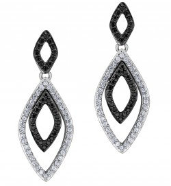 Ottawa Jewelry Stores - Black Diamond Earings