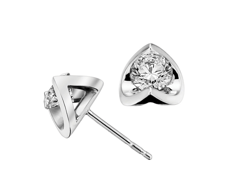Kanata Diamond Stud Earrings - Custom Jewelry Ottawa