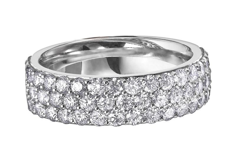 Ottawa Diamond Anniversary Rings - Rings Kanata